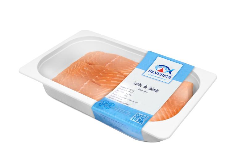 Lombos de salmão fresco