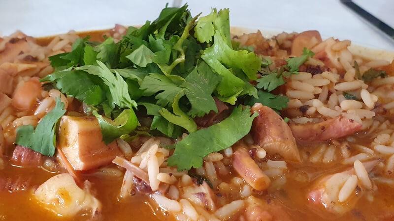 arroz de pota
